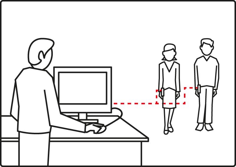 PC baseret pager system - Besked fra pc til modtager